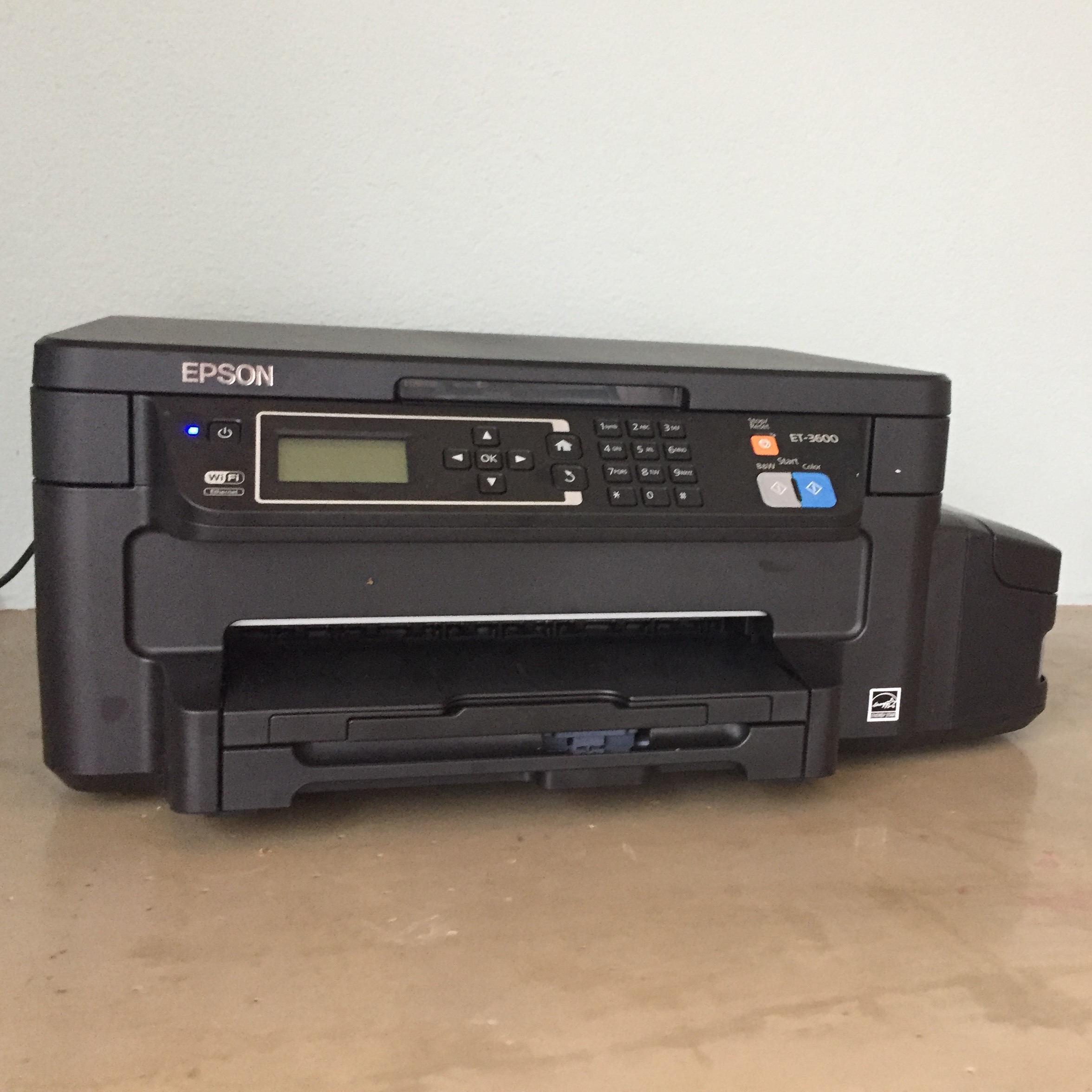 printer eco tank epson test zuinig inkt zonder cartridges patronen
